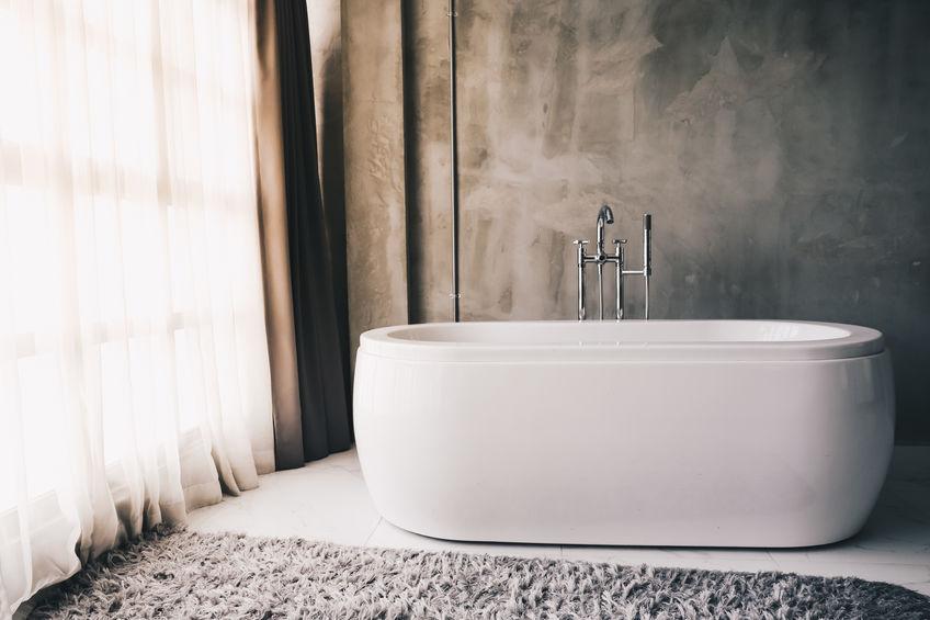 Tende moderne in bagno per un look contemporaneo