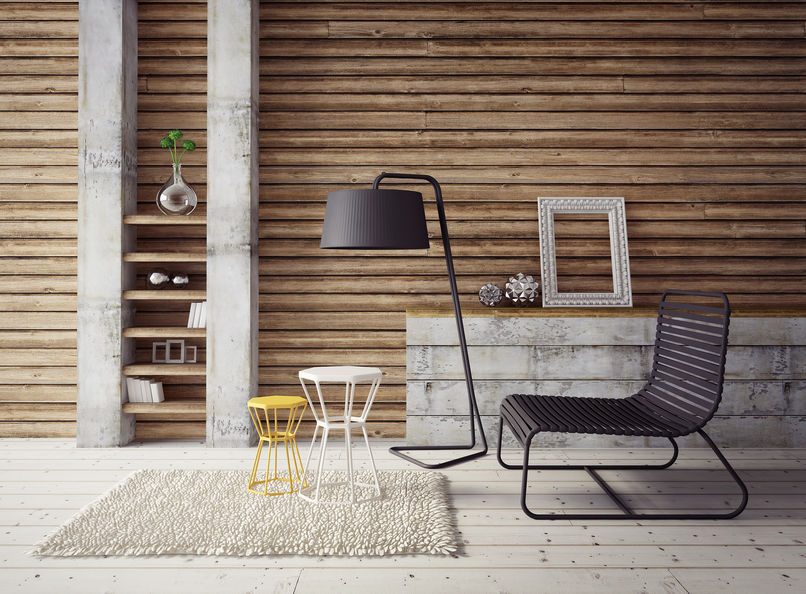 Come arredare gli ambienti di casa con il cemento