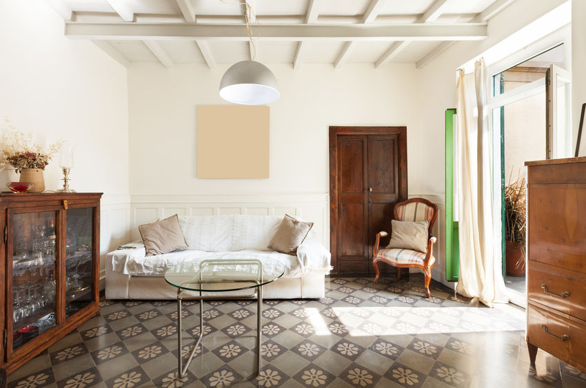 Bellissime idee per mantenere un'atmosfera vintage in casa