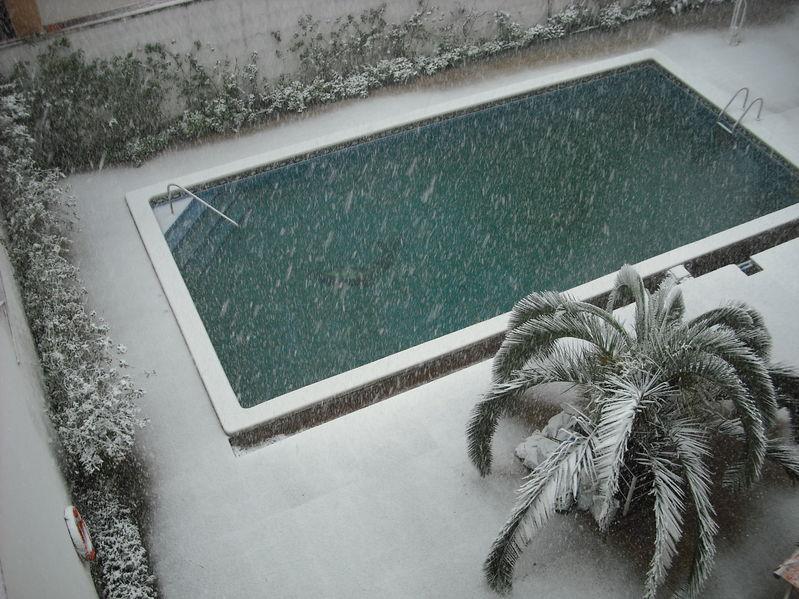 pulizia piscina per l'inverno
