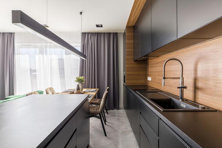Rubinetti in cucina con erogatore multi getto