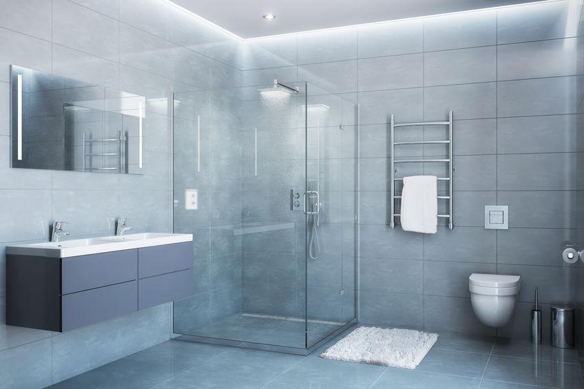 soffione doccia squadrato