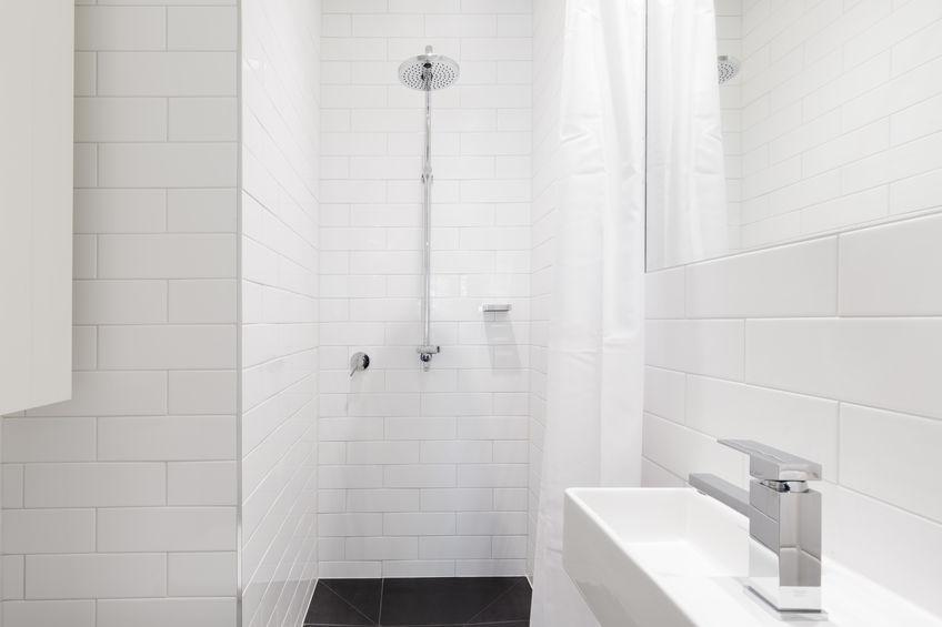 soffione doccia rotondo