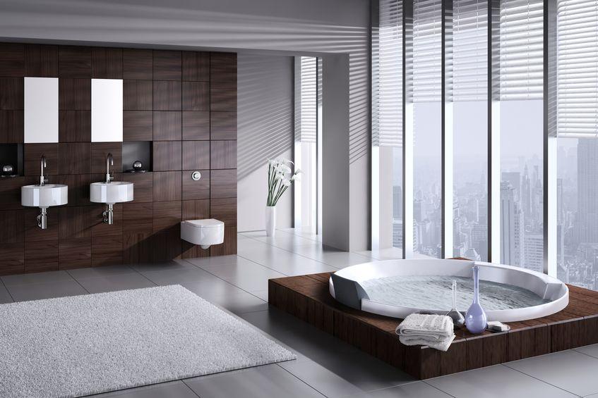 Doppio lavabo in bagno: indipendenti a parete
