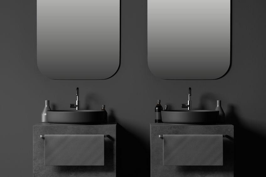 Doppio lavabo in bagno: funzionalità ed eleganza
