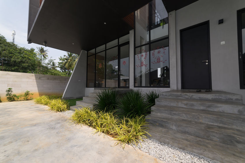 pavimentazioni esterne in cemento