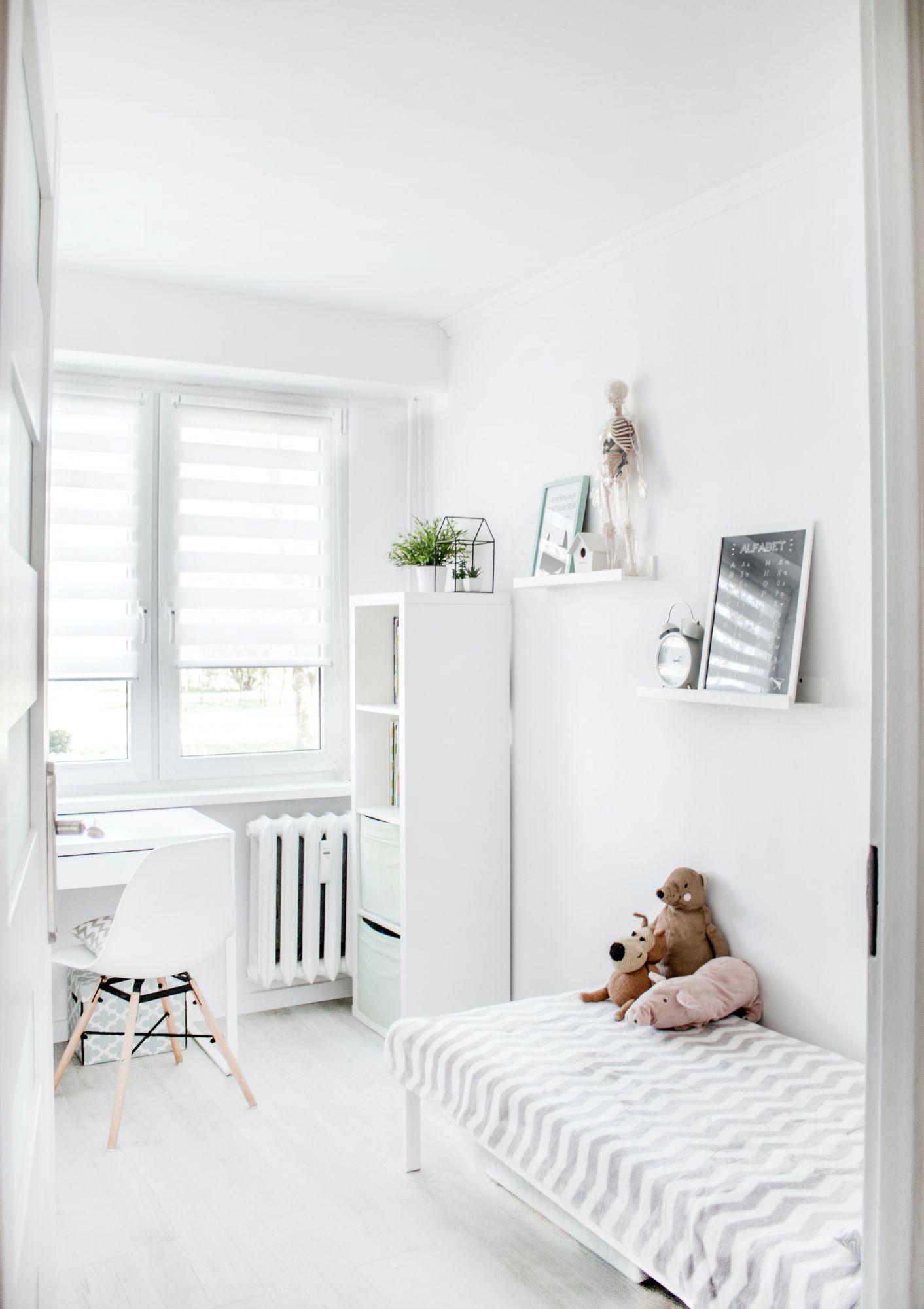Parquet in bianco: più luce nella cameretta dei bambini