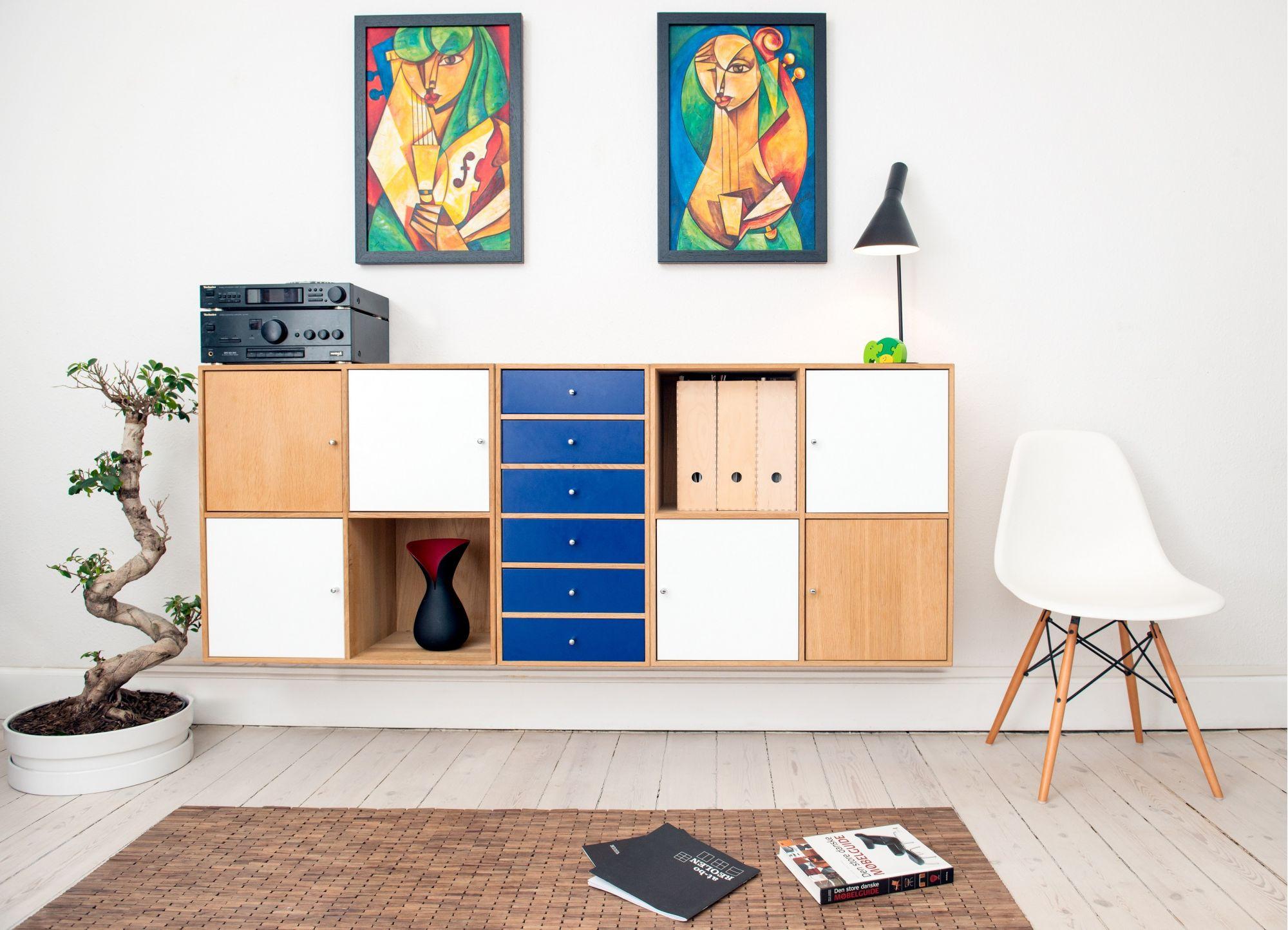 Un parquet bianco per illuminare gli ambienti di casa