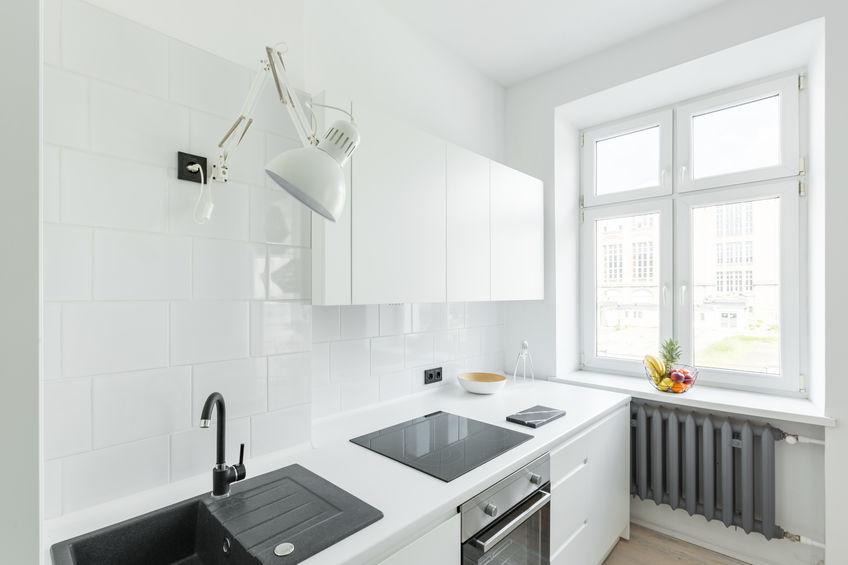 Mini cucina: utilizza pochi colori