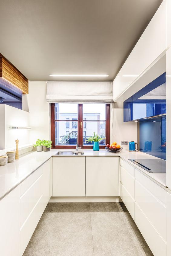 Mini cucina: migliora l'illuminazione