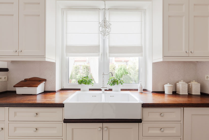 Intramontabili pomelli tondi per le ante della cucina