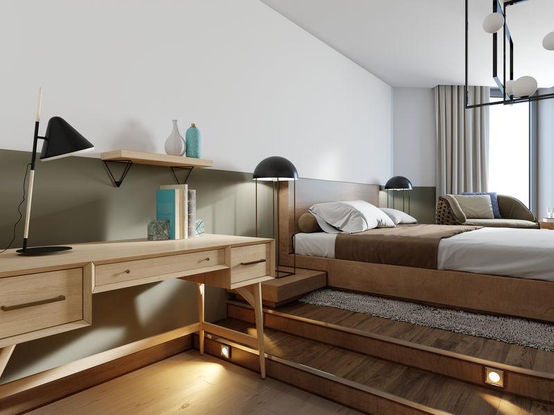 scrivania camera da letto