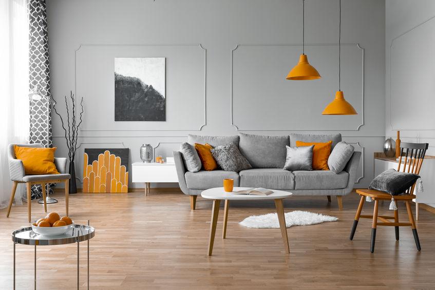 accessori casa arancioni