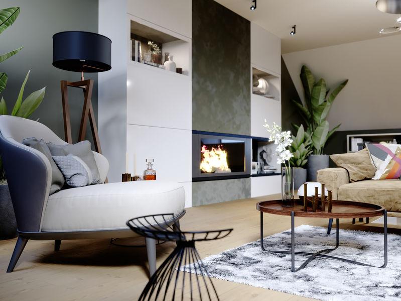 poltrona moderna salotto