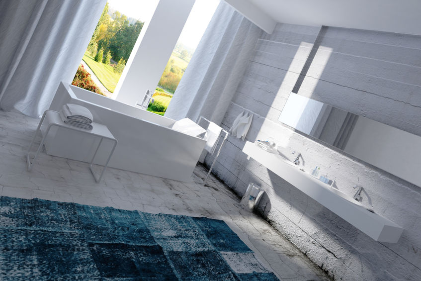 vasca da bagno forma squadrata