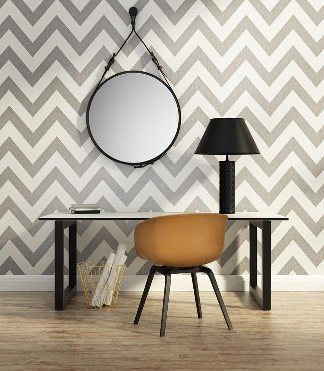 Chevron style per pareti: tinteggiature di tendenza