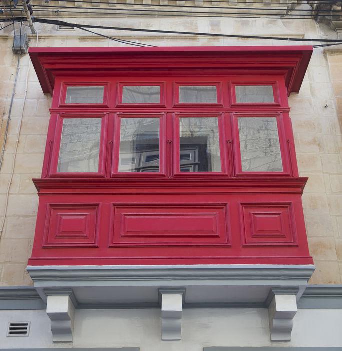 balcone chiuso