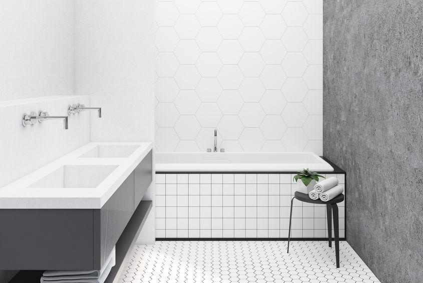 Tendenze bagno: rubinetti con installazione a parete