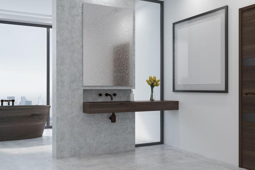 Rubinetti a parete in bagno: esamina i contro