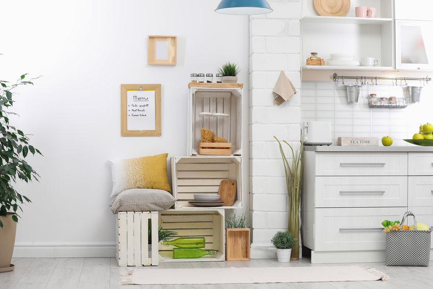 Cucina eclettica: eco furniture