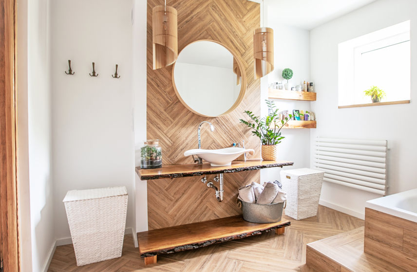 8 meravigliose idee per illuminare uno specchio in bagno