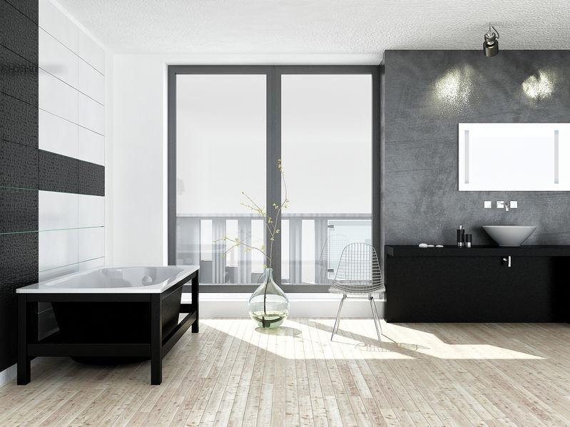 Specchio in bagno: faretti orientabili