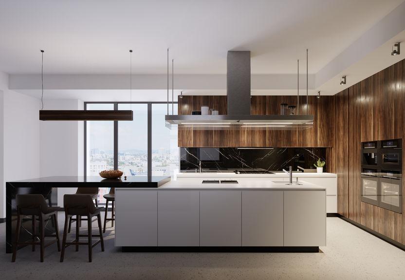 Scegliere differenti finiture e materiali per l'arredo in cucina