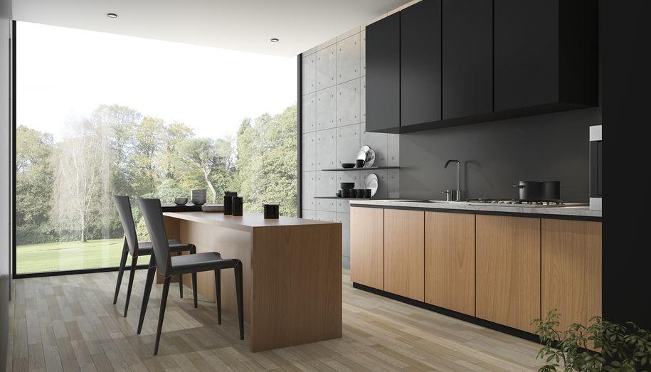 Cucina moderna: mix trendy di finiture e materiali