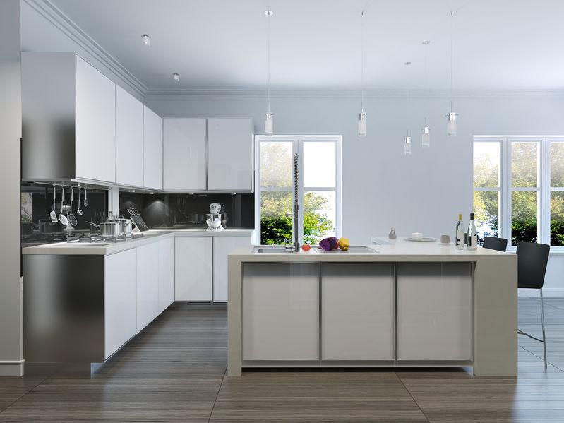 illuminazione per cucina moderna
