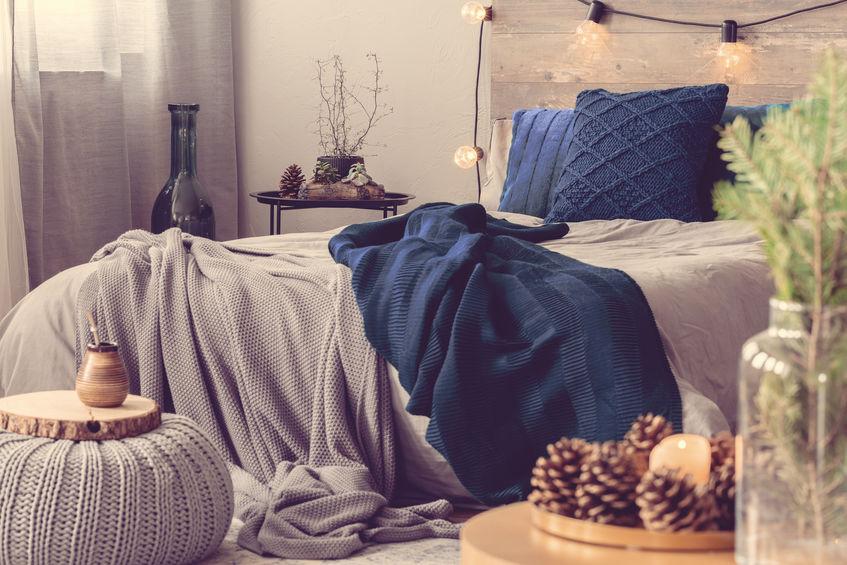 Chunky wool: tendenze invernali per la casa