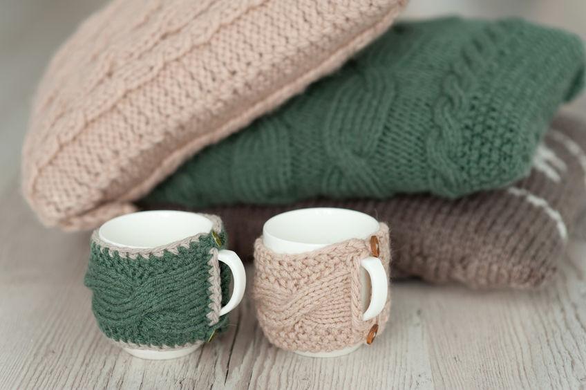 Chunky wool: cuscini per tutta la casa