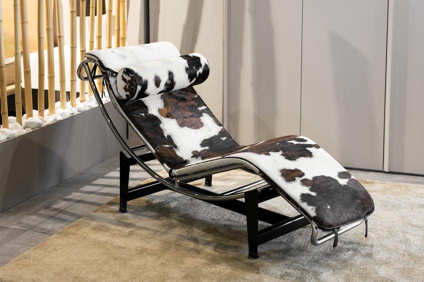 chaise longue di design