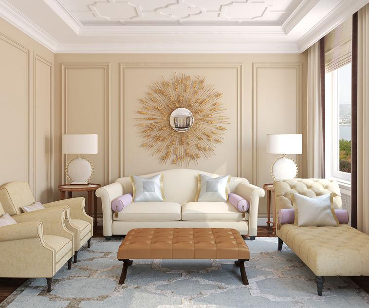 chaise longue in stile classico
