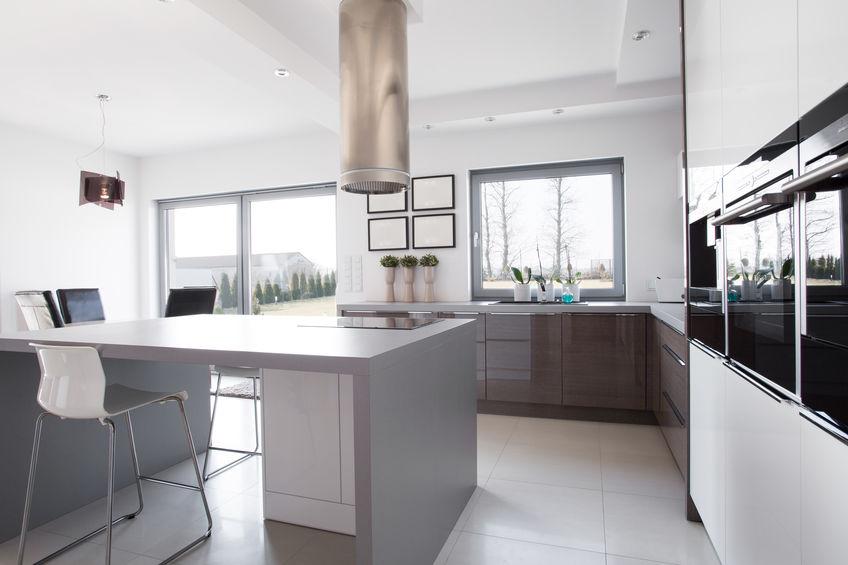 vetri per le finestre in cucina