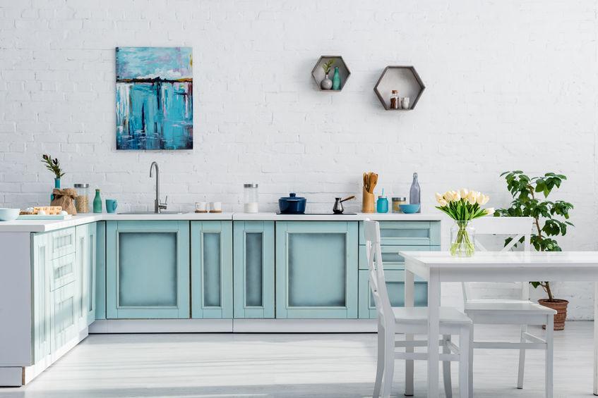 Cucina: quadri d'autore nella cucina di casa