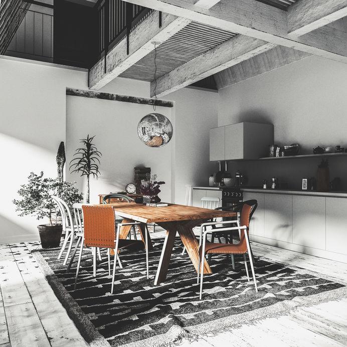 Come scegliere il giusto tappeto per la sala da pranzo