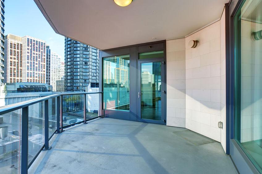 Pavimento per balcone: in resina funzionale e chic