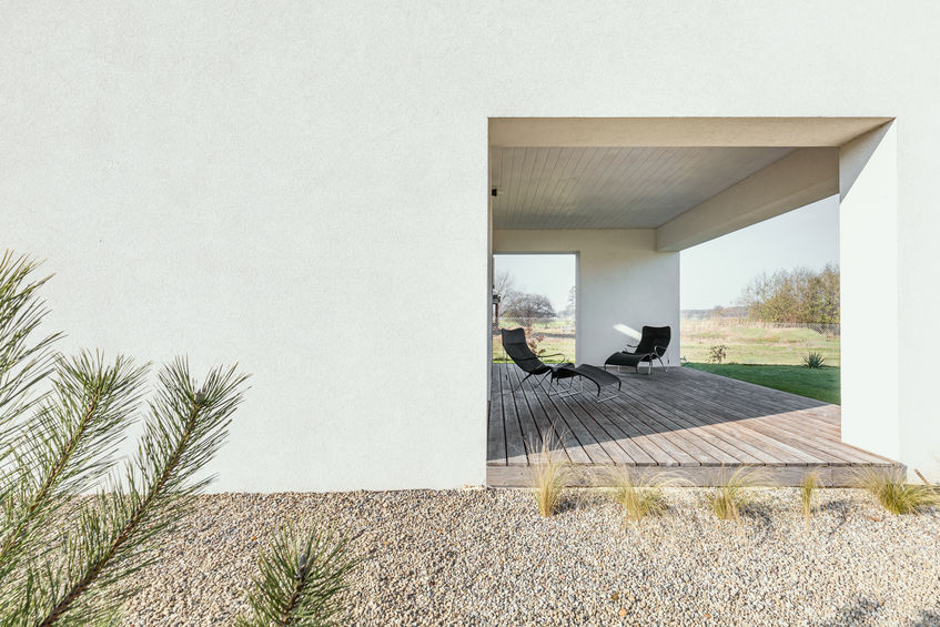 Soluzioni progettuali per un portico d'eccezione