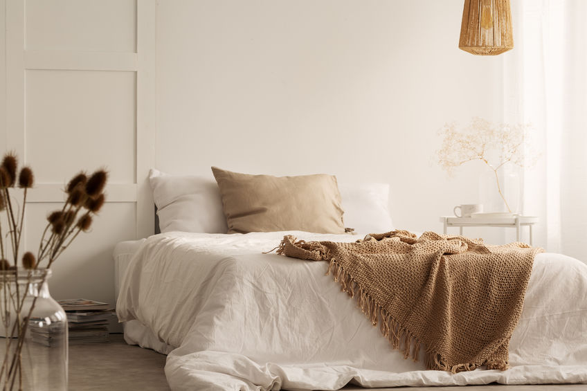 Duvet covers: naturale lino monocromo in stile nordico