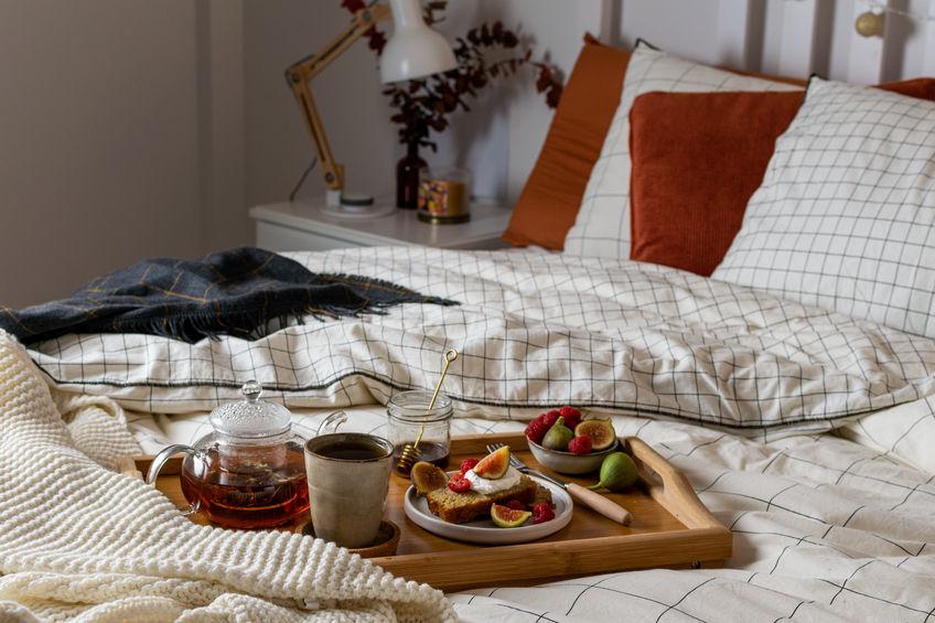 Duvet covers: tendenze per la biancheria in camera da letto