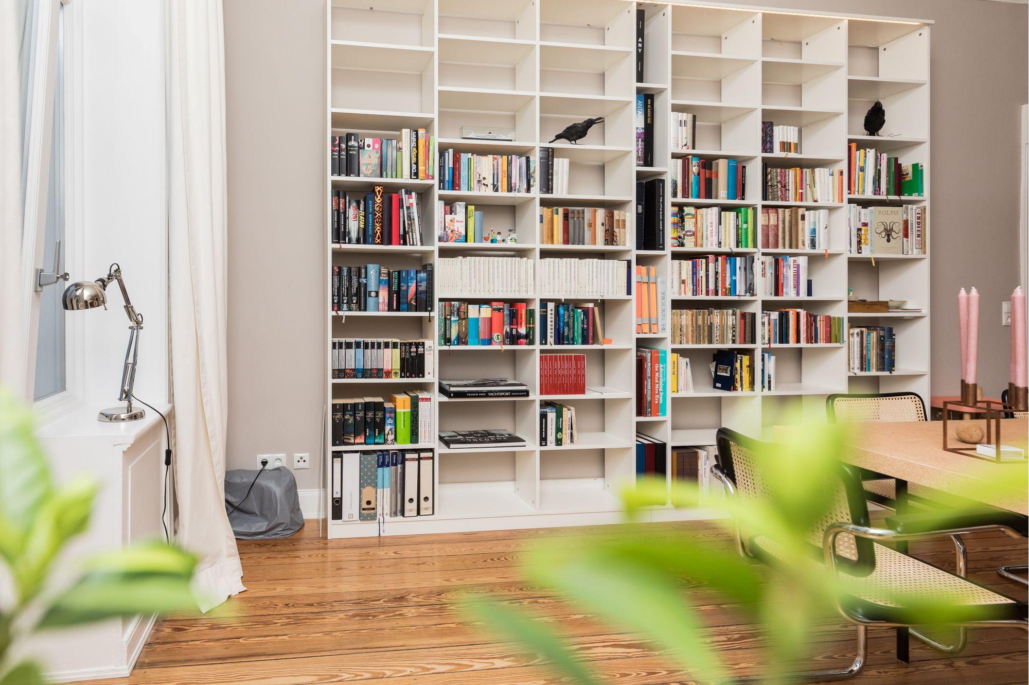8 bellissime librerie a tutt'altezza per la casa