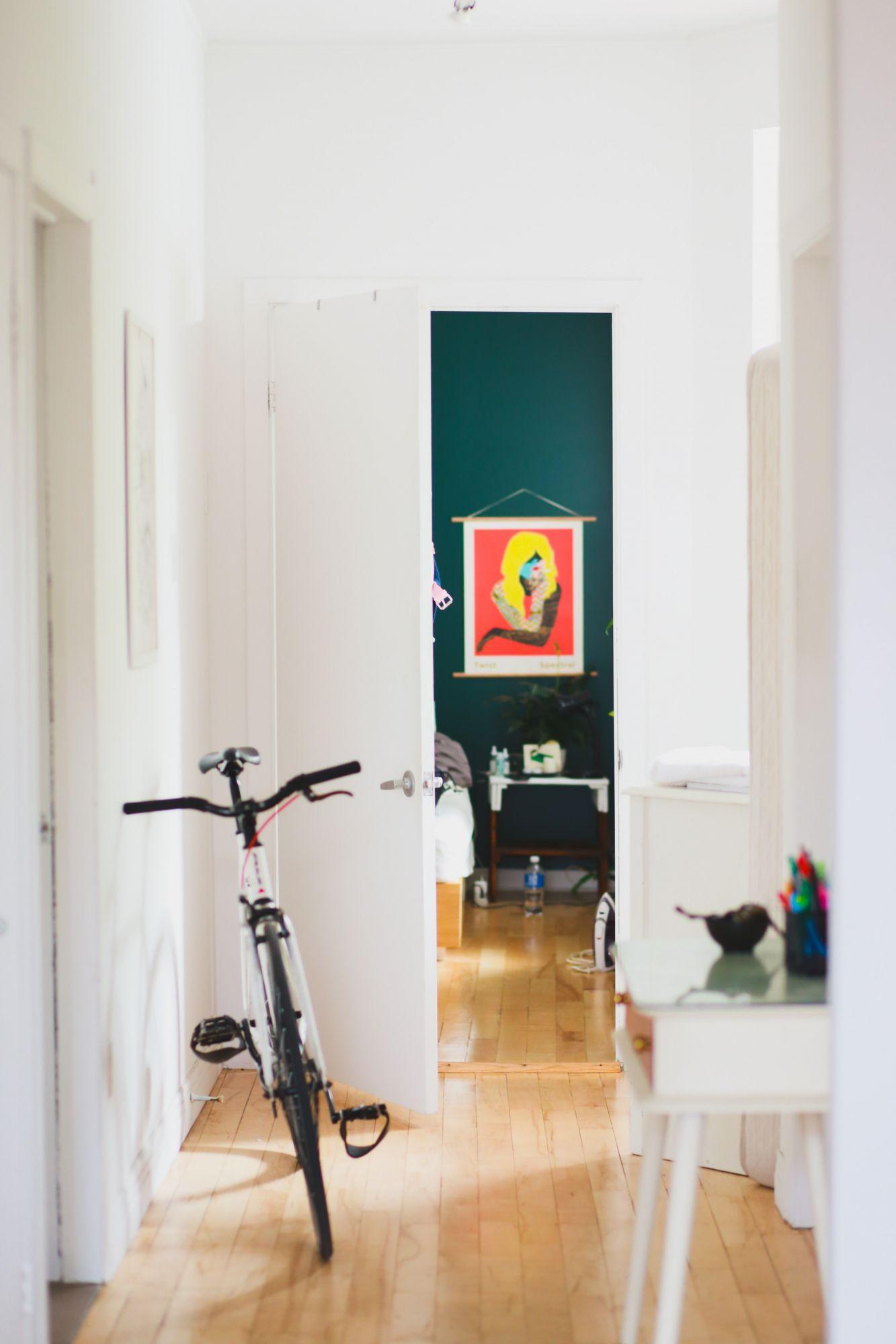 Corridoio: personalizza con un colore