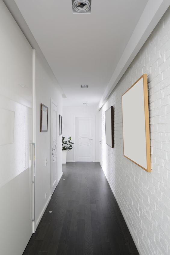 Corridoio: inserisci diversi materiali