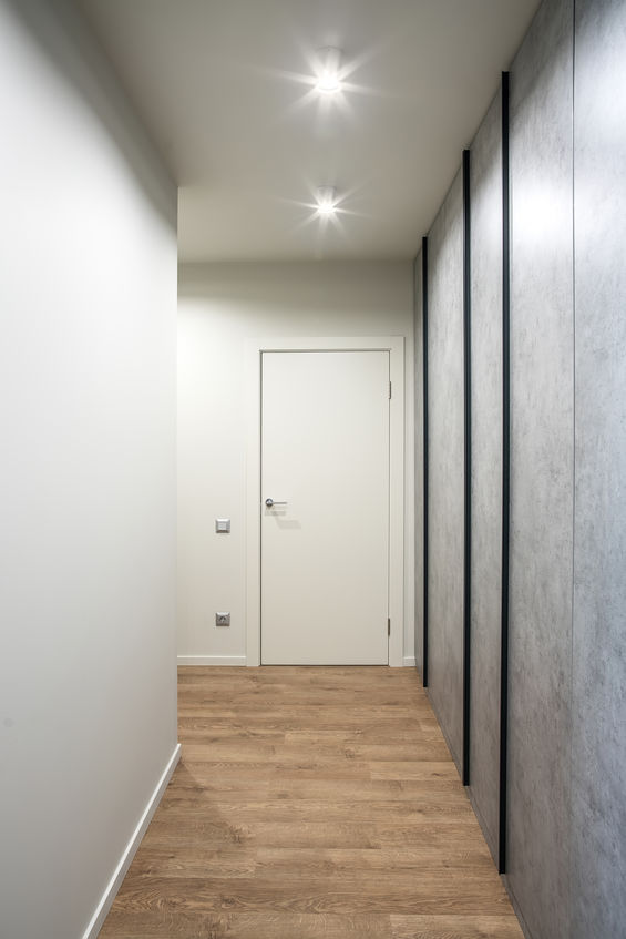 Corridoio: inserisci due diversi materiali