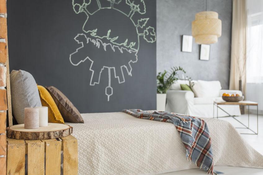 camera da letto con salotto privato
