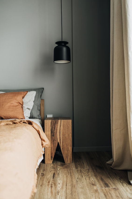 Zona notte: illuminazione trendy in camera da letto