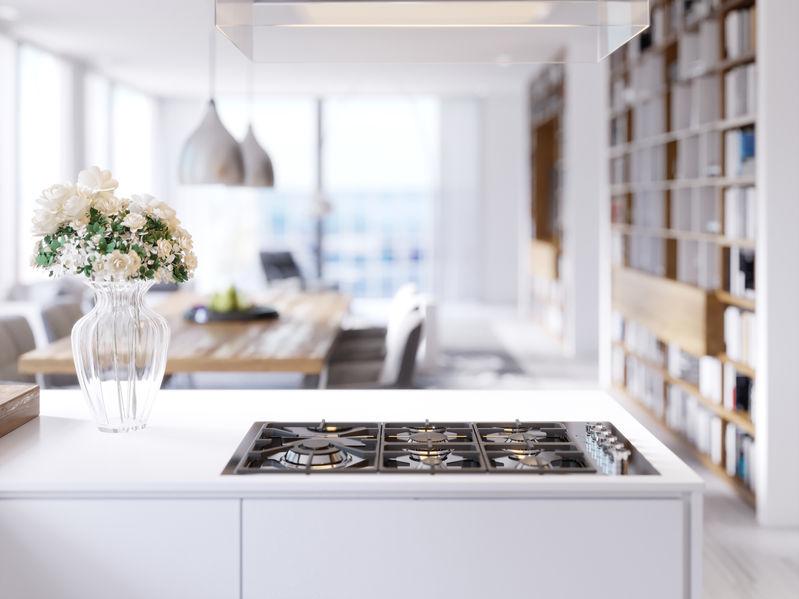 Piano cottura a gas: restyling e design in cucina