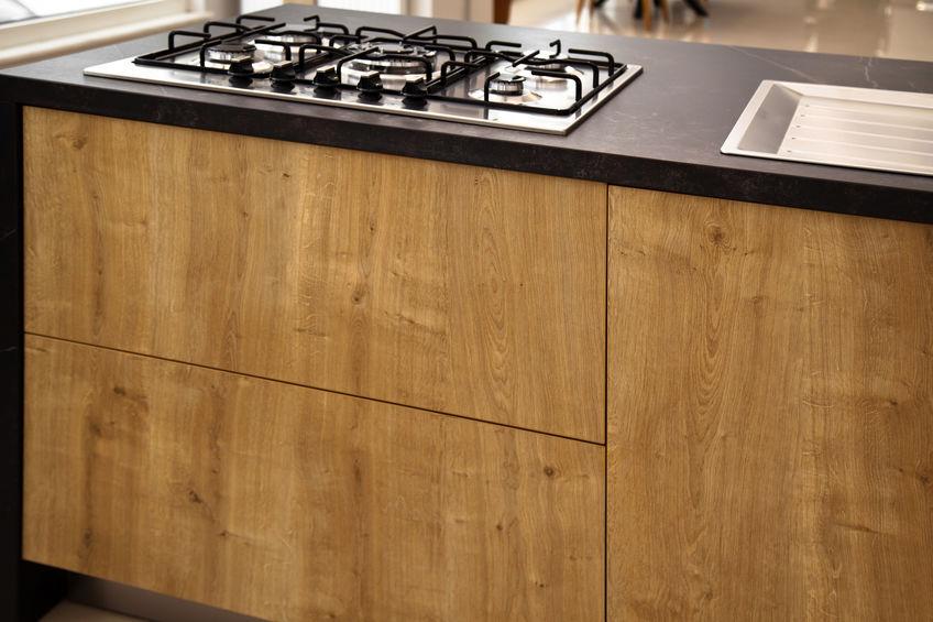 Piano cottura a gas in cucina: design e restyling