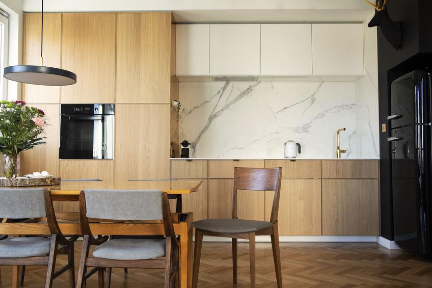 Frigorifero: in cucina in un'apposita nicchia