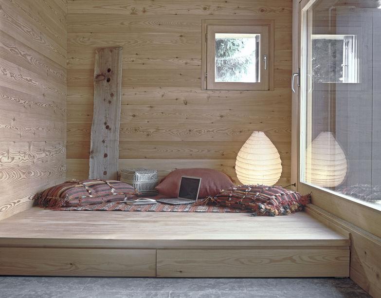 Casa chalet: angolo relax con vista